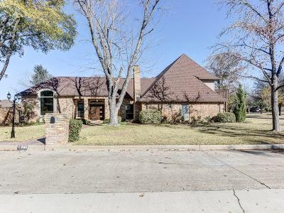Trophy Club Single Family Home For Sale: 201 Oakmont Drive