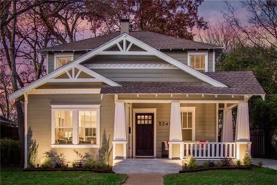 Dallas Single Family Home For Sale: 5349 Goodwin Avenue