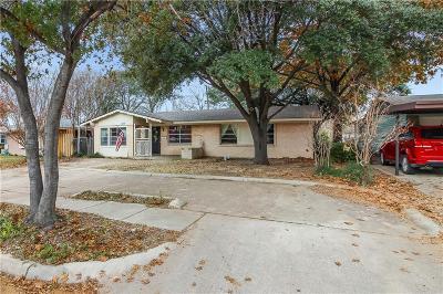 Carrollton Single Family Home For Sale: 1709 Pleasant Run Road