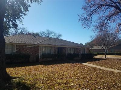 Dallas Single Family Home For Sale: 7804 La Cosa Drive