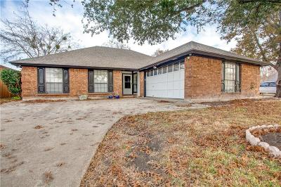 Garland Single Family Home Active Option Contract: 4814 Cresthill Lane