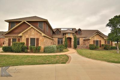 Abilene Single Family Home For Sale: 310 Southwind Circle