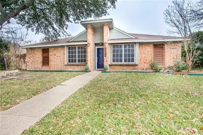 Garland Single Family Home Active Option Contract: 2530 Kimberly Drive