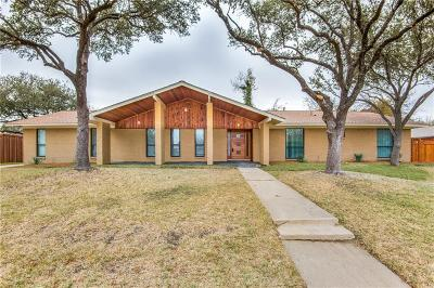 Farmers Branch Single Family Home For Sale: 3623 Pebble Beach Drive