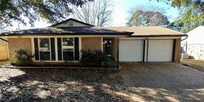 Arlington Single Family Home Active Option Contract: 1408 Vancouver Drive