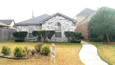 Wylie Single Family Home Active Option Contract: 441 Fleming Street