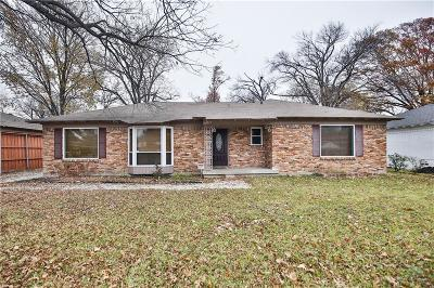 Single Family Home For Sale: 6515 Walnut Hill Lane