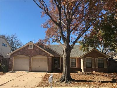 Arlington Single Family Home Active Option Contract: 4742 Hollow Tree Drive