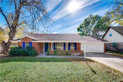 Arlington Single Family Home Active Option Contract: 2404 W Lavender Lane