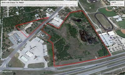 Cisco Commercial Lots & Land For Sale: 1510 N Service Road I-20 Freeway