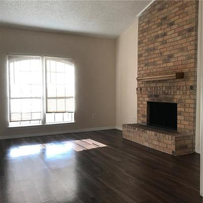 Rowlett Residential Lease For Lease: 6318 Alissa Drive