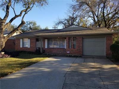 Farmers Branch Single Family Home Active Option Contract: 3204 Myra Lane