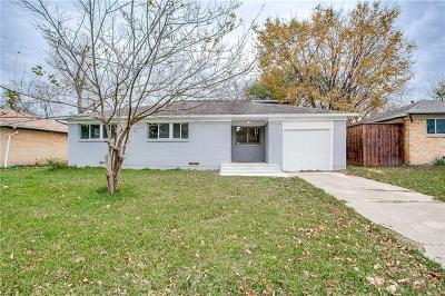 Mesquite Single Family Home For Sale: 3516 Statler Drive