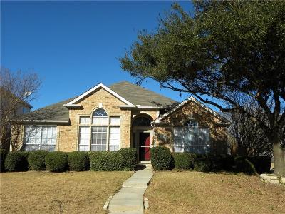 Plano Single Family Home Active Contingent: 2501 Hunters Run Drive