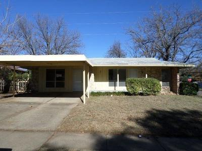 Dallas Single Family Home For Sale: 4607 Timber Wood Drive