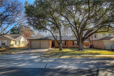 Farmers Branch Single Family Home Active Option Contract: 13236 Shahan Drive