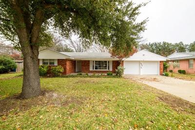 Fort Worth Single Family Home For Sale: 3509 Wooten Drive