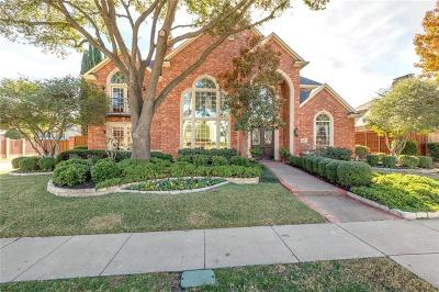 Plano Single Family Home Active Option Contract: 5920 Davenhill Drive