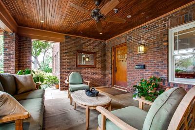 Dallas TX Single Family Home For Sale: $1,650,000