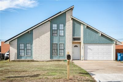 Seagoville Single Family Home Active Option Contract: 301 Hillhaven Drive