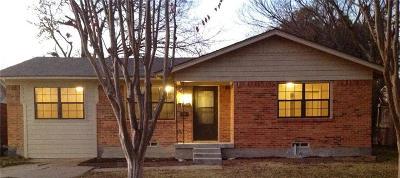 Mesquite Single Family Home For Sale: 1707 Belmont Street #Gu