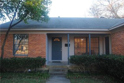 Richardson Single Family Home For Sale: 617 Westwood Drive