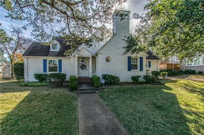 Dallas Single Family Home For Sale: 1244 N Tyler Street