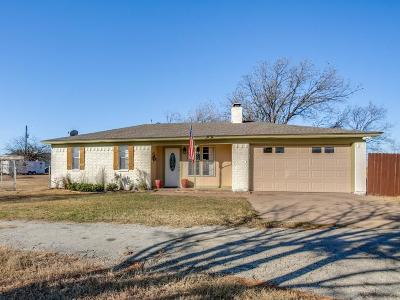 Haslet Single Family Home Active Option Contract: 1380 Maxwell Road