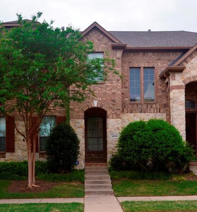 Plano Townhouse For Sale: 8609 Pauline Street