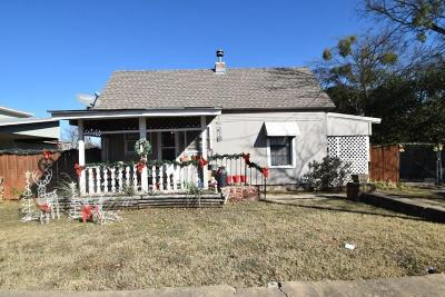 Stephenville TX Single Family Home For Sale: $79,900