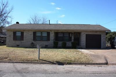 Erath County Single Family Home For Sale: 1712 Bingham Street