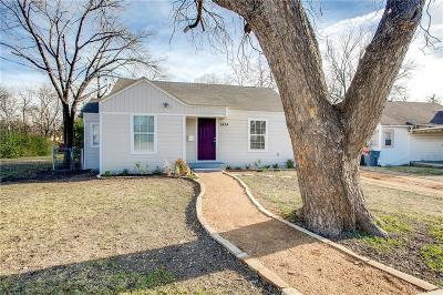 Dallas Single Family Home For Sale: 1434 Waweenoc Avenue