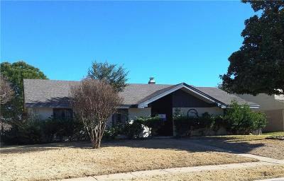 Richardson Single Family Home For Sale: 103 S Spring Creek Drive