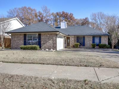 Garland Single Family Home For Sale: 314 Overland Drive