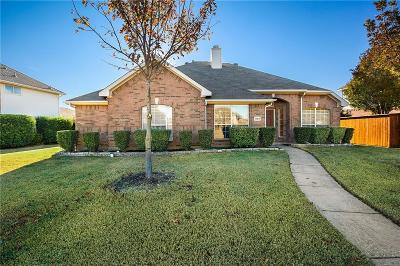 Allen Single Family Home Active Option Contract: 1104 Providence Drive