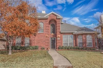 Garland Single Family Home For Sale: 709 Butternut Drive