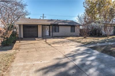 Arlington TX Single Family Home For Sale: $159,000