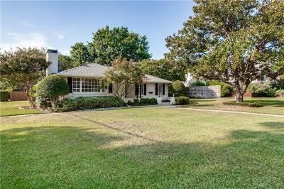 Single Family Home For Sale: 7430 Midbury Drive