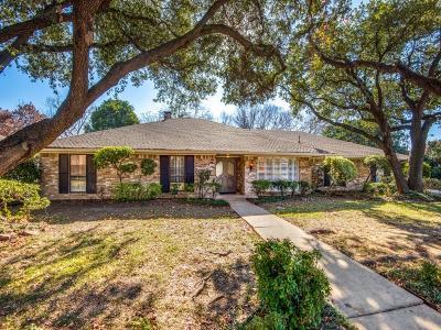 Dallas Single Family Home For Sale: 7206 Tophill Lane