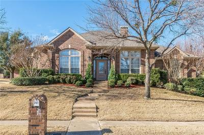 Prosper Single Family Home For Sale: 201 Stone Hollow Court