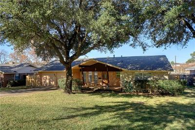 Hurst Single Family Home For Sale: 848 Edgehill Drive