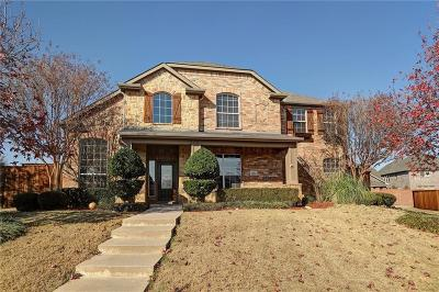 Allen Single Family Home For Sale: 1601 Bryce Canyon Lane