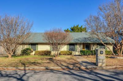 Arlington Single Family Home Active Option Contract: 1707 Torch Drive