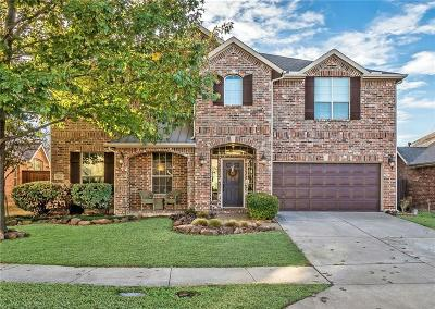Frisco Single Family Home Active Contingent: 12411 Angelo Drive