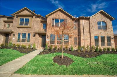Carrollton Townhouse For Sale: 3632 Harebell Drive