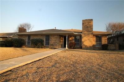 Lewisville Single Family Home For Sale: 1841 College Parkway