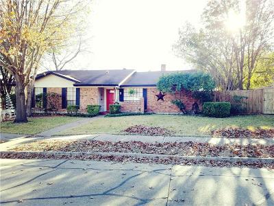 Garland Single Family Home For Sale: 502 San Pedro Drive