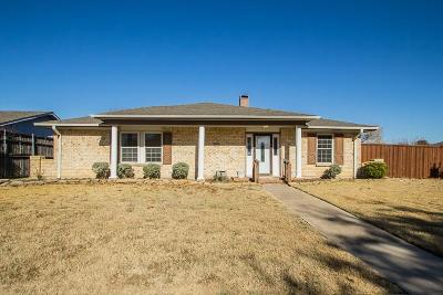 Carrollton Single Family Home For Sale: 2247 Roundrock Drive