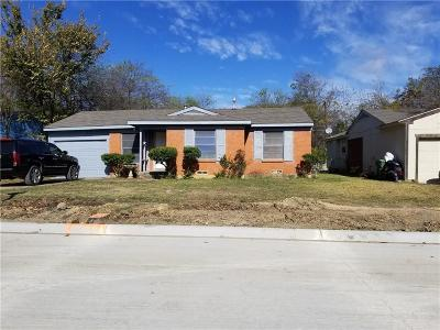 Arlington Single Family Home For Sale: 1705 Reever Street