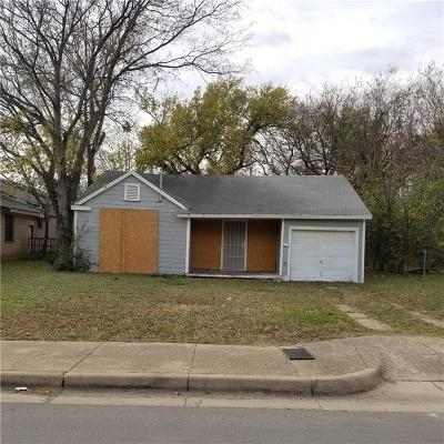 Fort Worth Single Family Home For Sale: 1828 Dillard Street